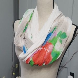 Collection Eighteen Watercolor Infinity Scarf